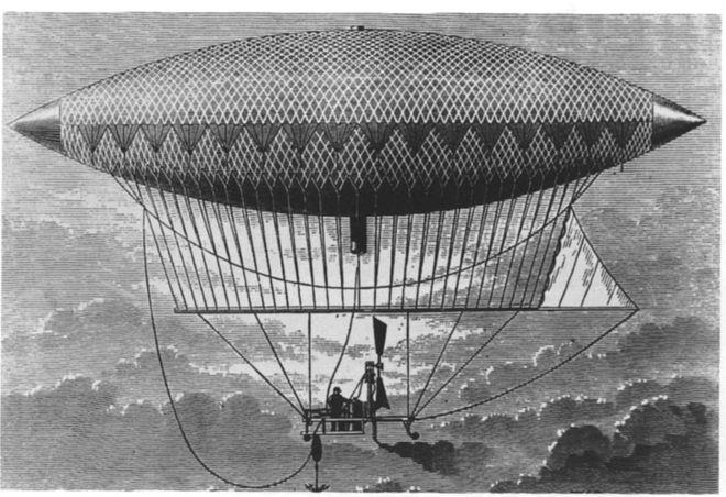 giffard-airship